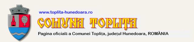 Comuna Toplița, jud. Hunedoara Logo